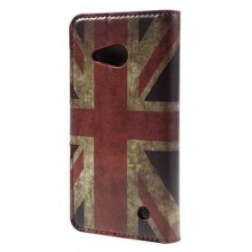 Lumia 550 Iso-Britannian lippu puhelinlompakko