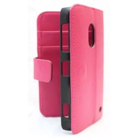 Lumia 620 hot pink lompakko suojakotelo.
