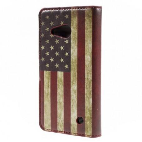 Lumia 550 Yhdysvaltojen lippu puhelinlompakko