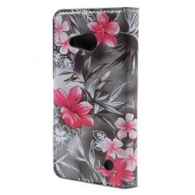 Lumia 550 kauniit kukat puhelinlompakko