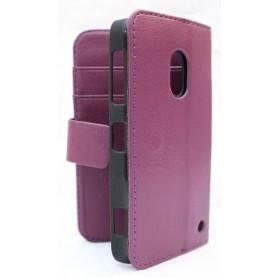 Lumia 620 violetti lompakko suojakotelo.