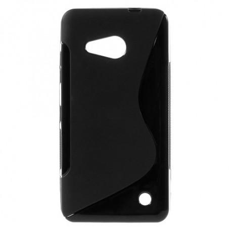 Lumia 550 musta silikonisuojus.