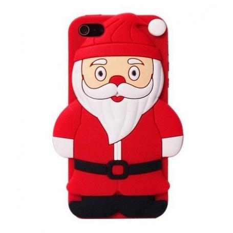 iPhone 4s Joulupukki silikonisuojus.