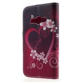 Galaxy Xcover 3 sydän puhelinlompakko