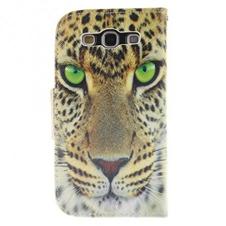 Galaxy S3 leopardi puhelinlompakko