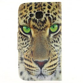 Galaxy J5 leopardi puhelinlompakko