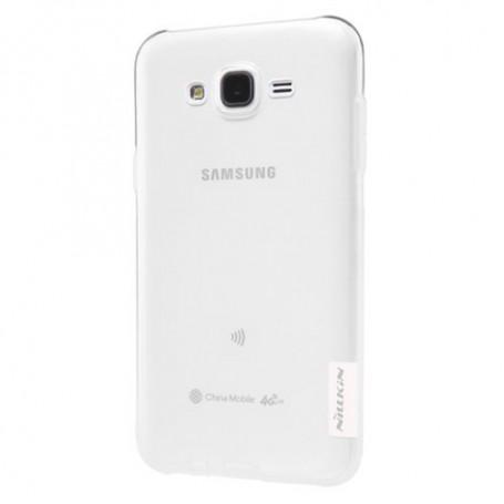 Samsung Galaxy J5 ultra ohuet läpinäkyvät kuoret.