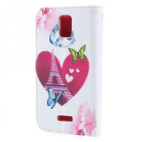 Huawei Y360 sydän puhelinlompakko