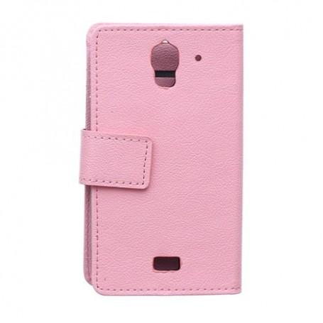 Huawei Y360 pinkki puhelinlompakko