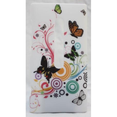 Lumia 800 suojakuori kauniit perhoset.