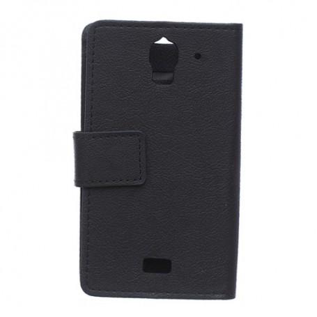 Huawei Y360 musta puhelinlompakko