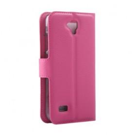 Huawei Y5 pinkki puhelinlompakko