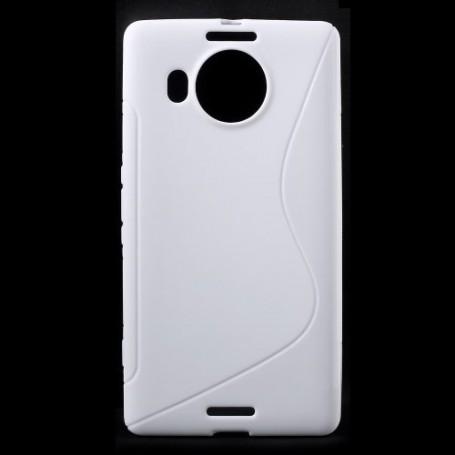 Lumia 950 XL valkoinen silikonisuojus.