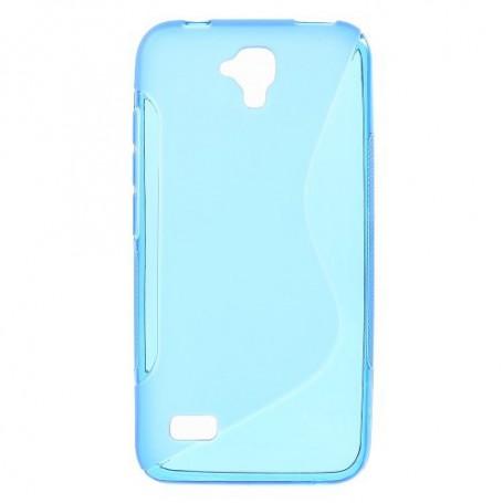 Huawei Y5 sininen silikonisuojus.
