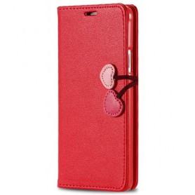 Galaxy S3 nätti punainen puhelinlompakko