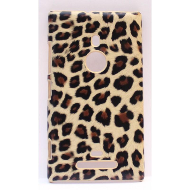 Lumia 925 leopardi suojakuori.