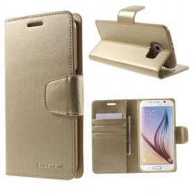 Samsung S6 kullan värinen puhelinlompakko