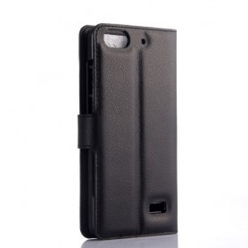 Huawei Honor 4C musta puhelinlompakko