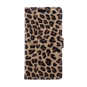 Huawei Honor 4C leopardi puhelinlompakko