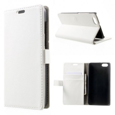 Huawei Honor 4X valkoinen puhelinlompakko
