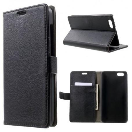Huawei Honor 4X musta puhelinlompakko