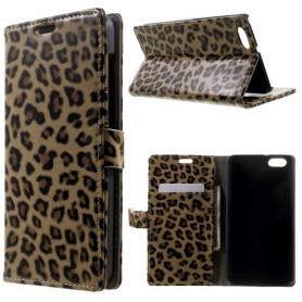 Huawei Honor 4X leopardi puhelinlompakko
