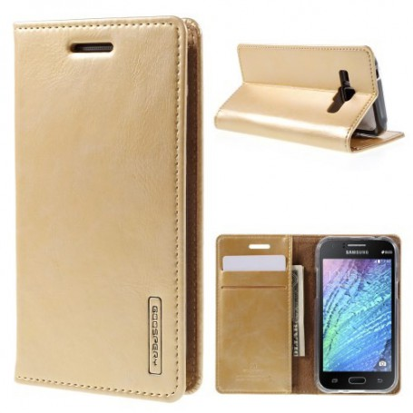 Samsung Galaxy J1 kullan värinen puhelinlompakko