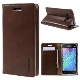 Samsung Galaxy J1 ruskea puhelinlompakko