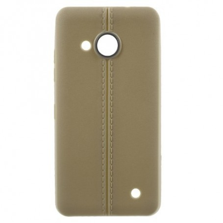 Lumia 550 kullanruskea suojakuori.