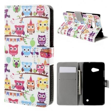 Lumia 550 pöllöt puhelinlompakko