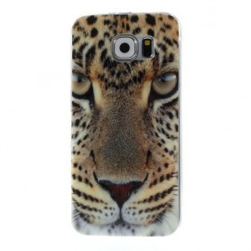 Samsung Galaxy S6 leopardi silikonisuojus.