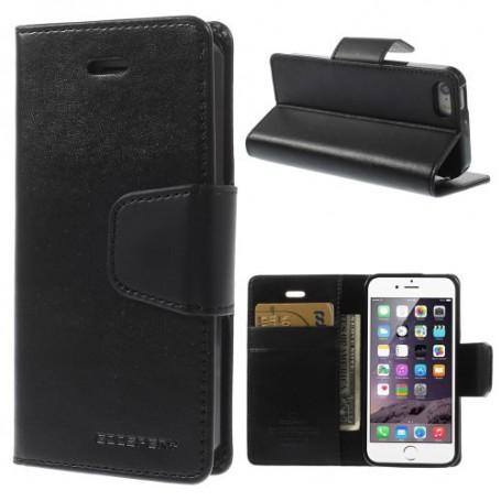 iPhone 5 musta puhelinlompakko