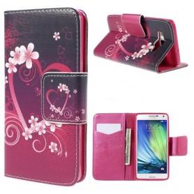 Samsung Galaxy A5 sydän puhelinlompakko
