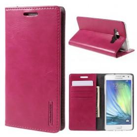 Samsung Galaxy A5 hot pink puhelinlompakko