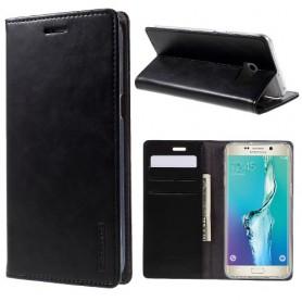 Samsung Galaxy S6 Edge plus musta puhelinlompakko