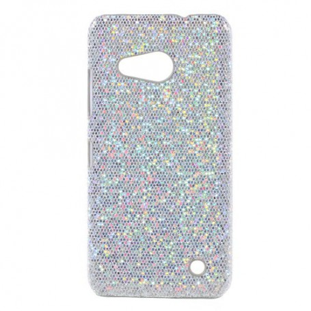 Lumia 550 hopea glitter suojakuori.