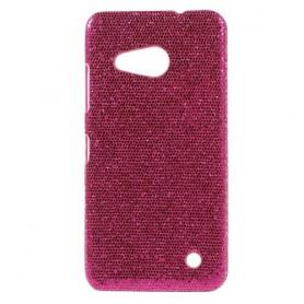 Lumia 550 hot pink glitter suojakuori.