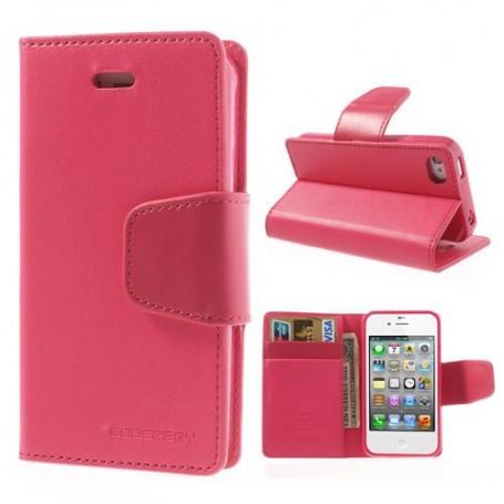 iPhone 4 hot pink puhelinlompakko