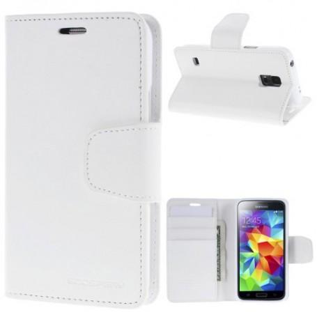 Samsung Galaxy S5 valkoinen puhelinlompakko
