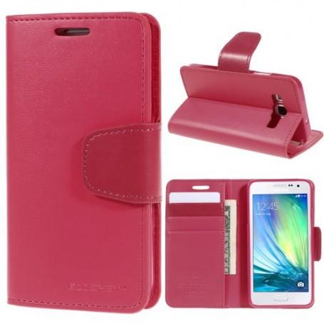 Samsung Galaxy A5 pinkki puhelinlompakko