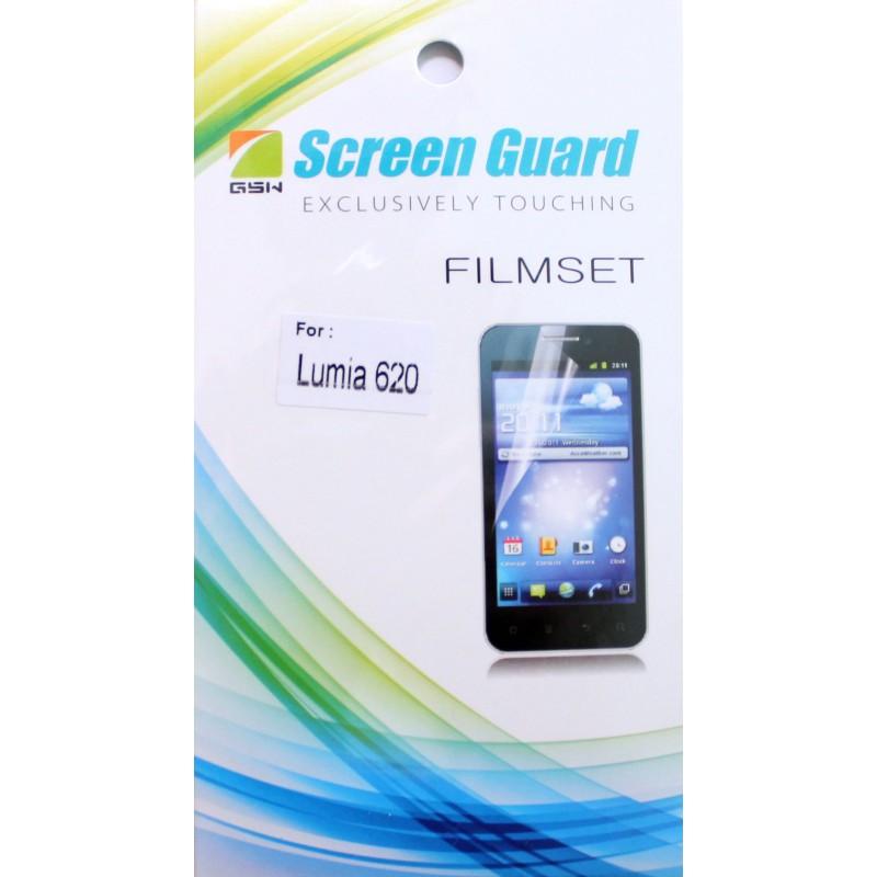 Lumia 620 kirkas suojakalvo
