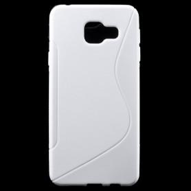 Samsung Galaxy A3 2016 valkoinen silikonisuojus.