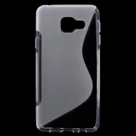 Samsung Galaxy A3 2016 läpinäkyvä silikonisuojus.