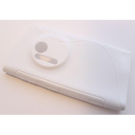 Lumia 1020 valkoinen silikonisuojus.