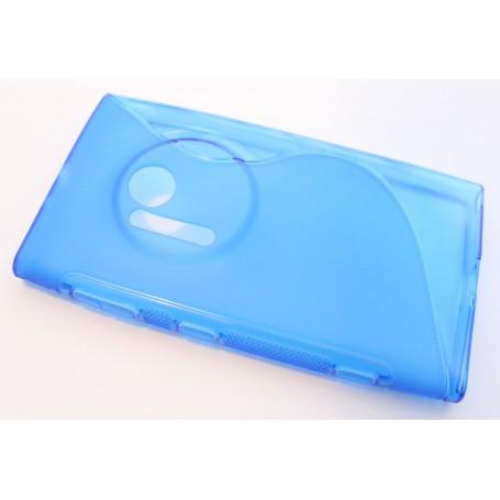 Lumia 1020 sininen silikonisuojus.