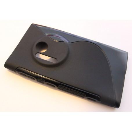 Lumia 1020 musta silikonisuojus.