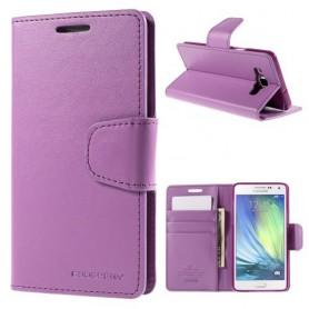 Samsung Galaxy A5 violetti puhelinlompakko