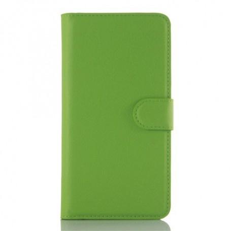 Samsung A5 2016 vihreä puhelinlompakko