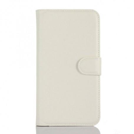 Samsung A3 2016 valkoinen puhelinlompakko