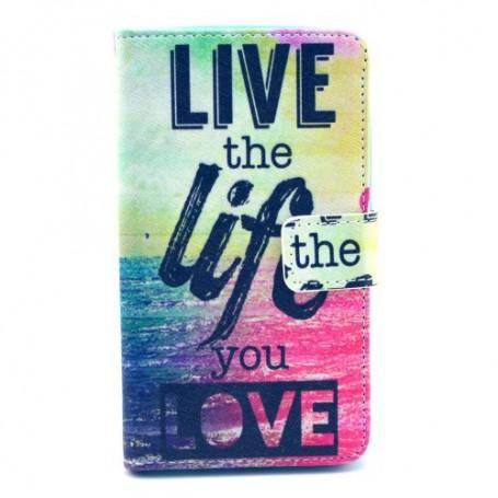 Lumia 625 live life puhelinlompakko